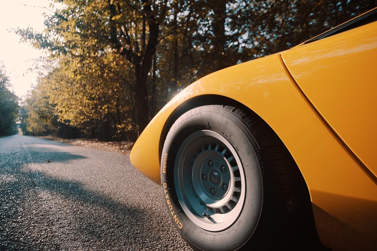 Pirelli : au bon souvenir de la Lamborghini Countach