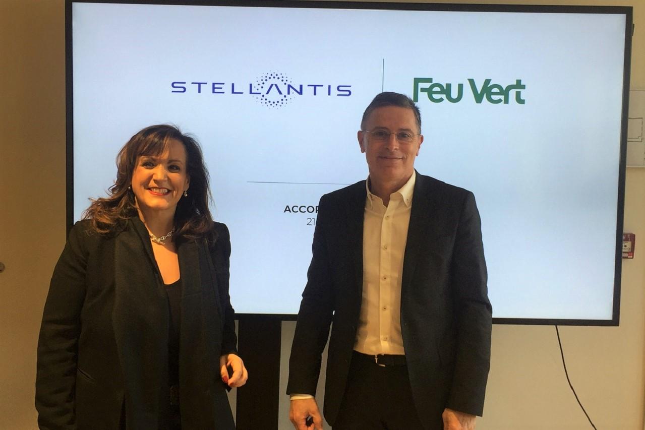 Feu Vert reçoit le soutien de Stellantis