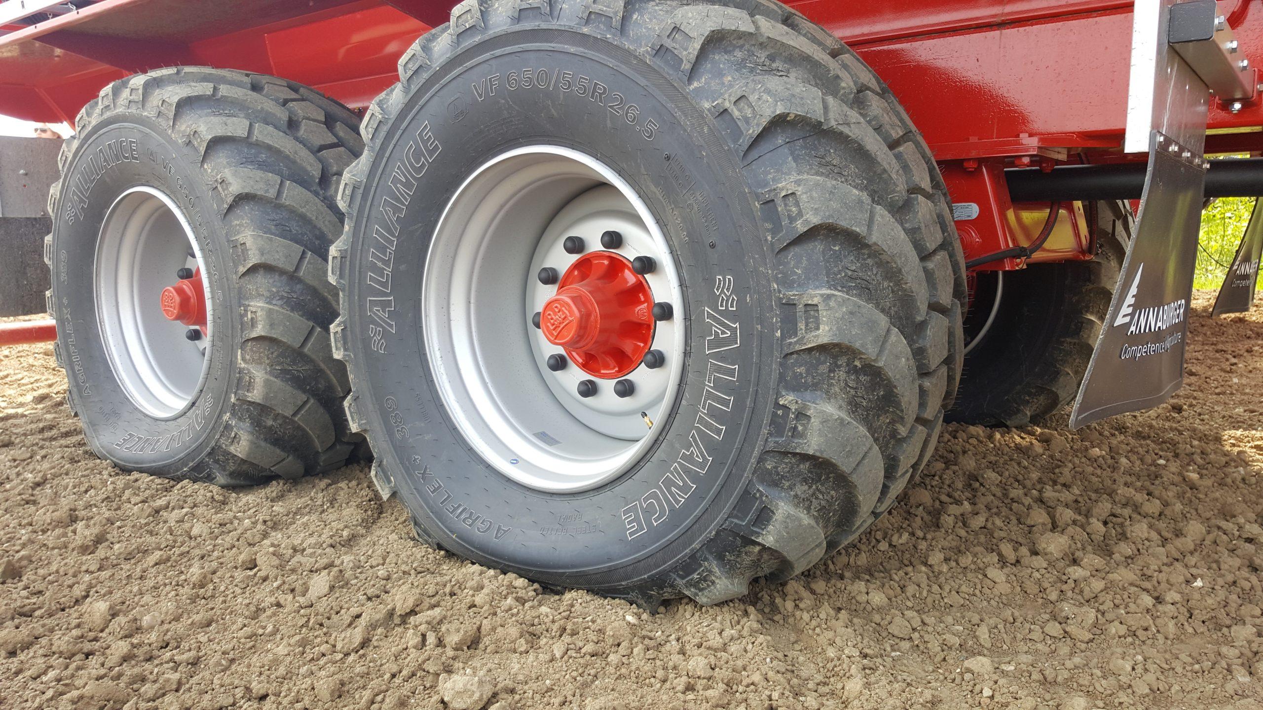 Alliance déploie le premier pneu porteur doté de la technologie VF