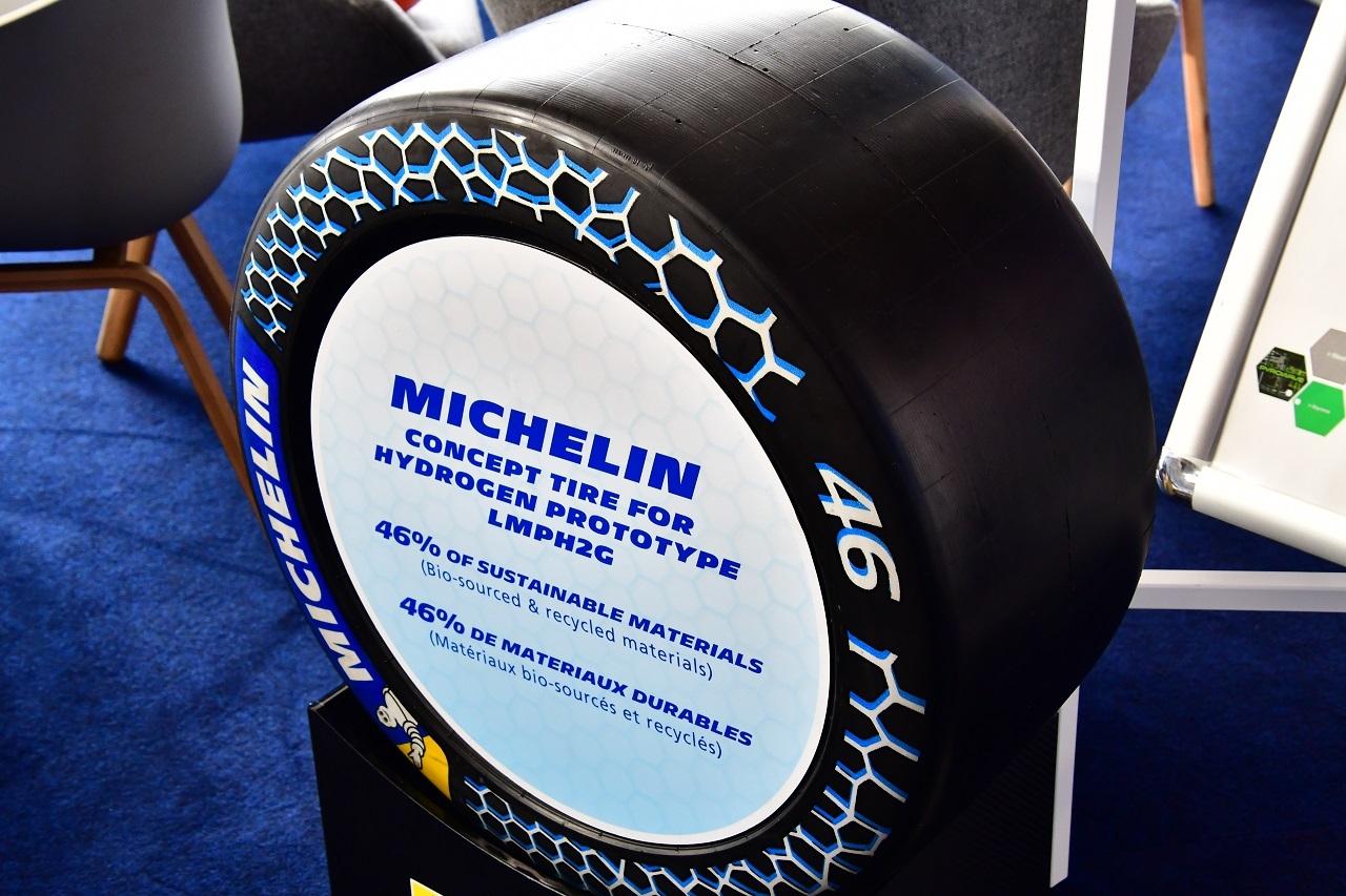 Recyclage : Michelin dévoile ses travaux au Mans
