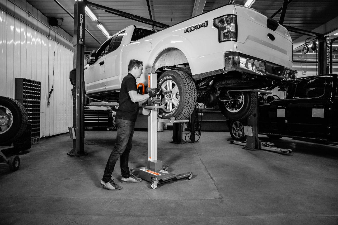 Martins Industries améliore son lève-roue Power Lifter