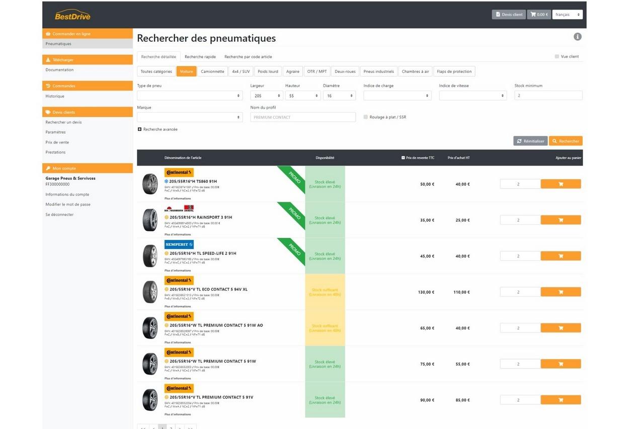 BestDrive lance un nouvel outil de commandes web