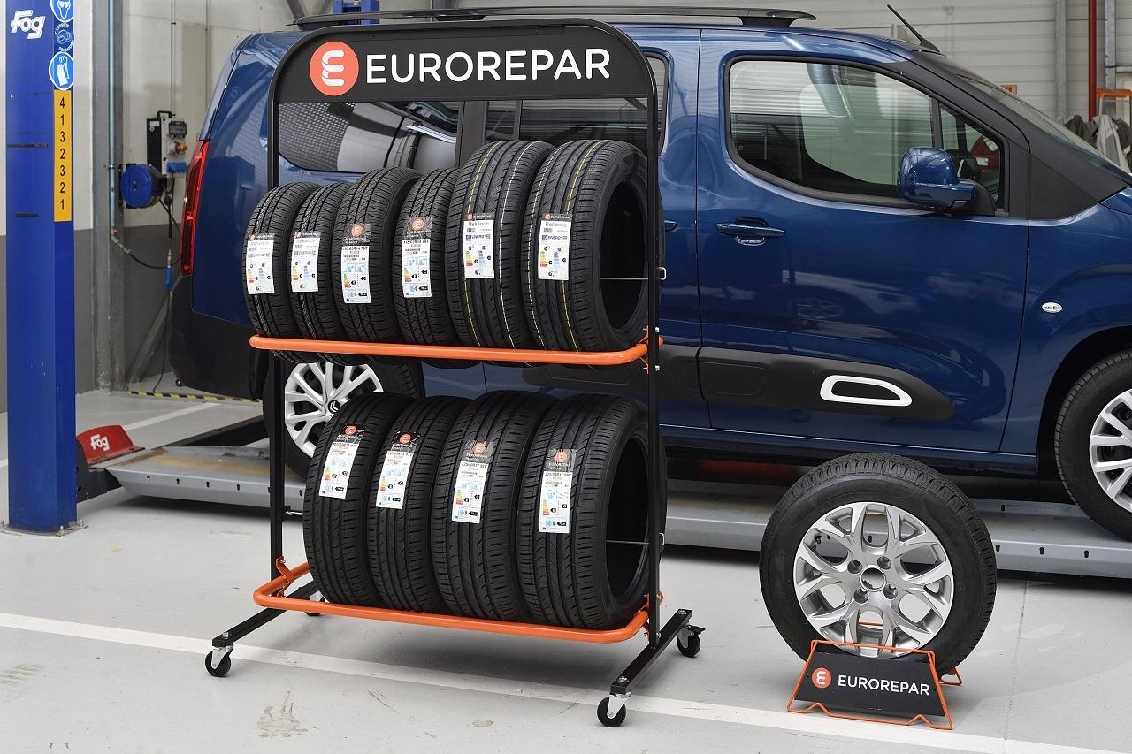Eurorepar renouvelle sa gamme de pneus été