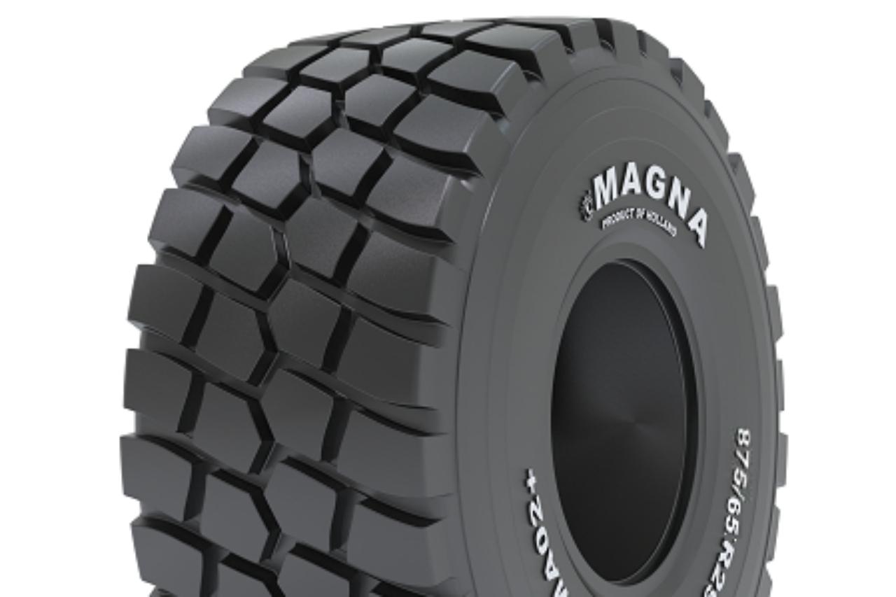 Magna Tyres : nouveaux pneus pour tombereaux articulés