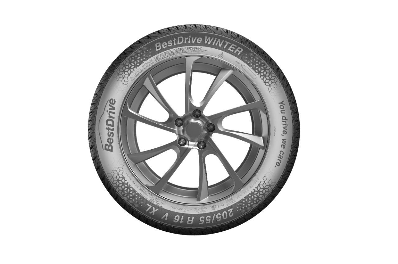 BestDrive lance une gamme de pneus hiver