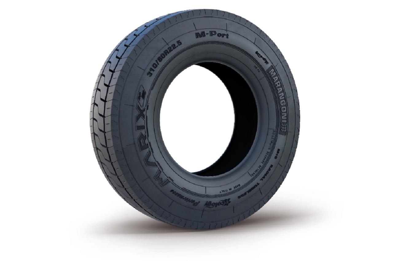 M-Port, le nouveau pneu portuaire rechapé de Marangoni