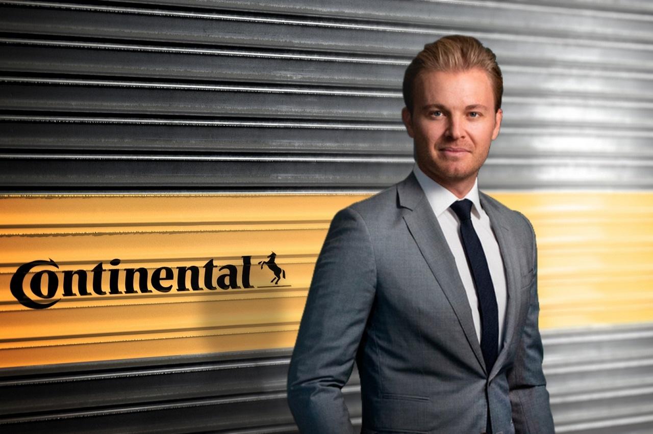 Nico Rosberg devient ambassadeur de la marque Continental