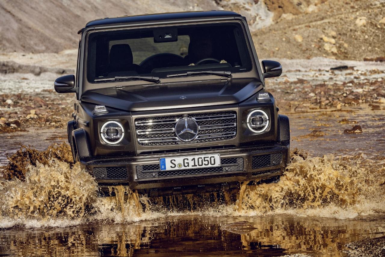 Le nouveau Mercedes Classe G se chausse en Falken