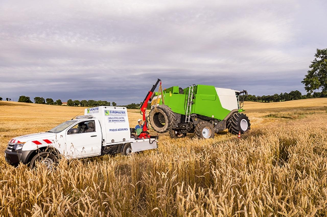 Euromaster mobilisé pour les agriculteurs