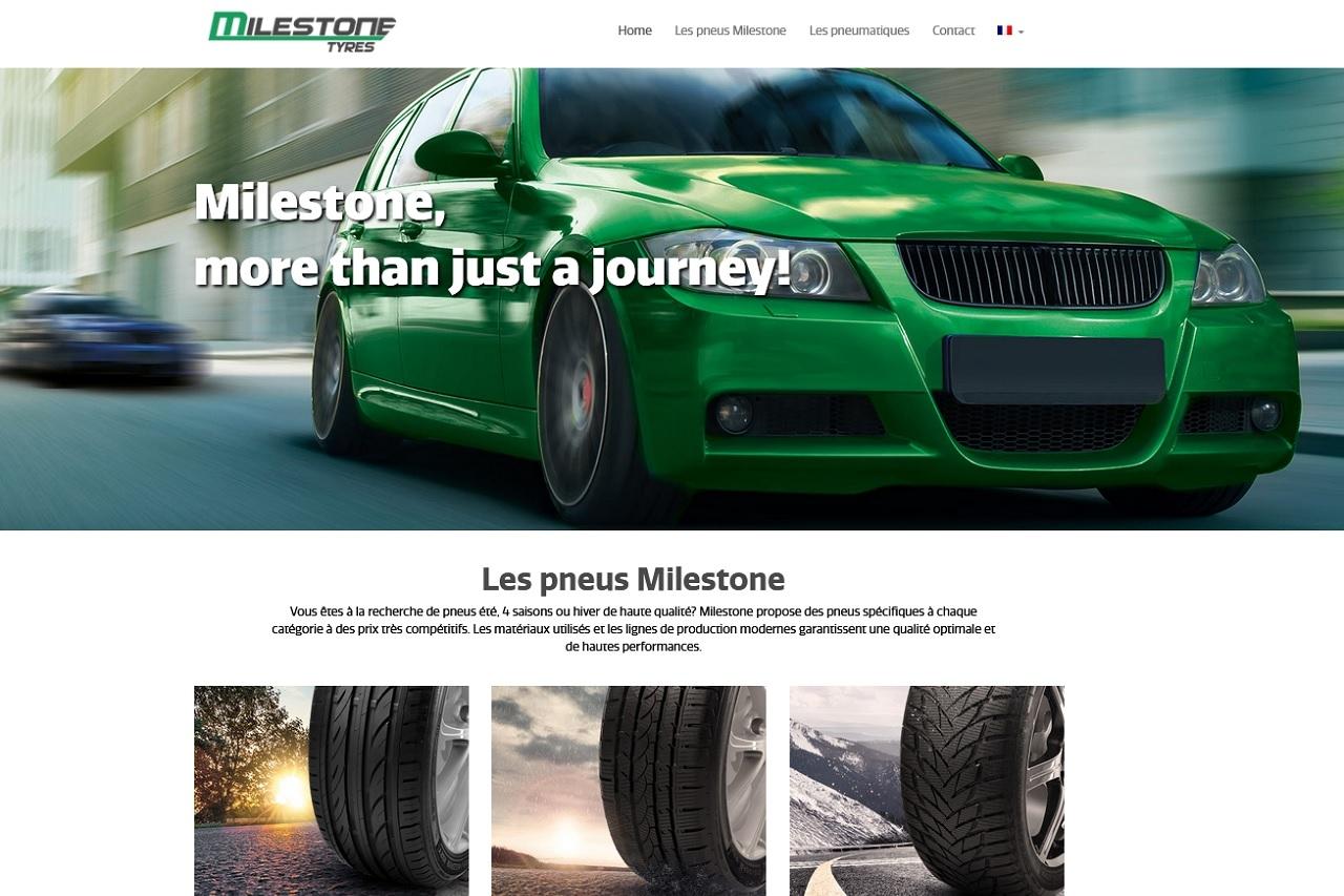 Un nouveau site internet pour Milestone