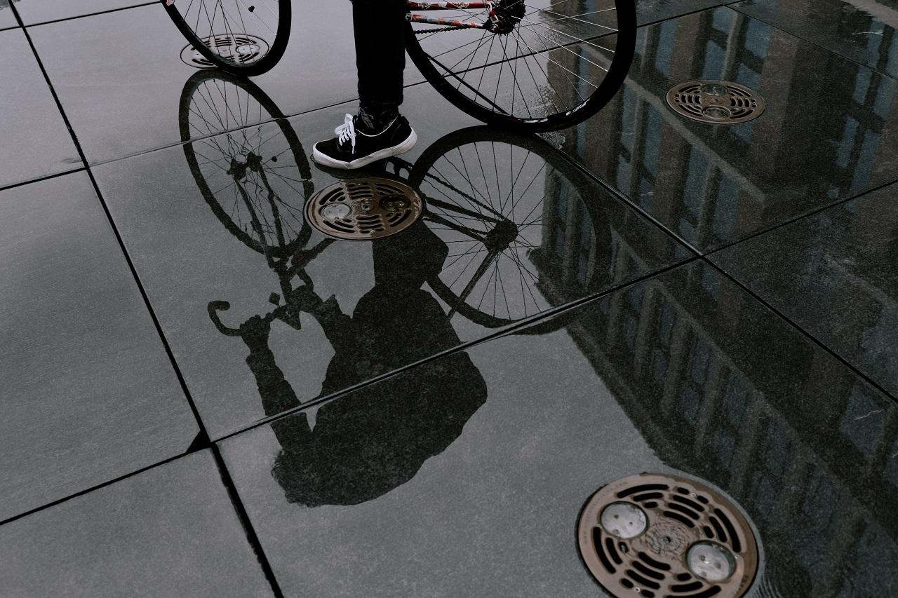 Du vélo en hiver, oui, mais avec des pneus adaptés !