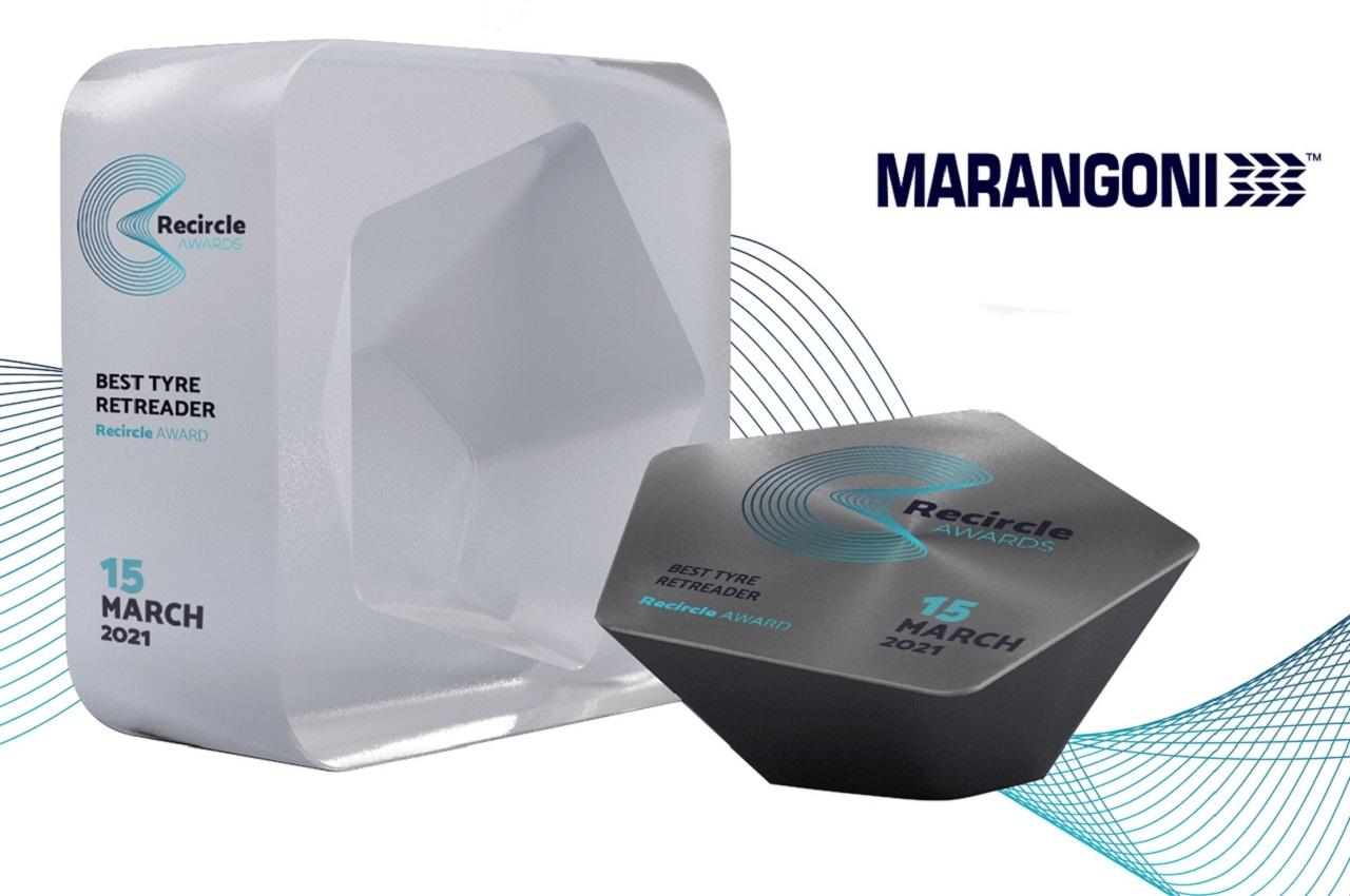 Marangoni primé aux Recircle Awards