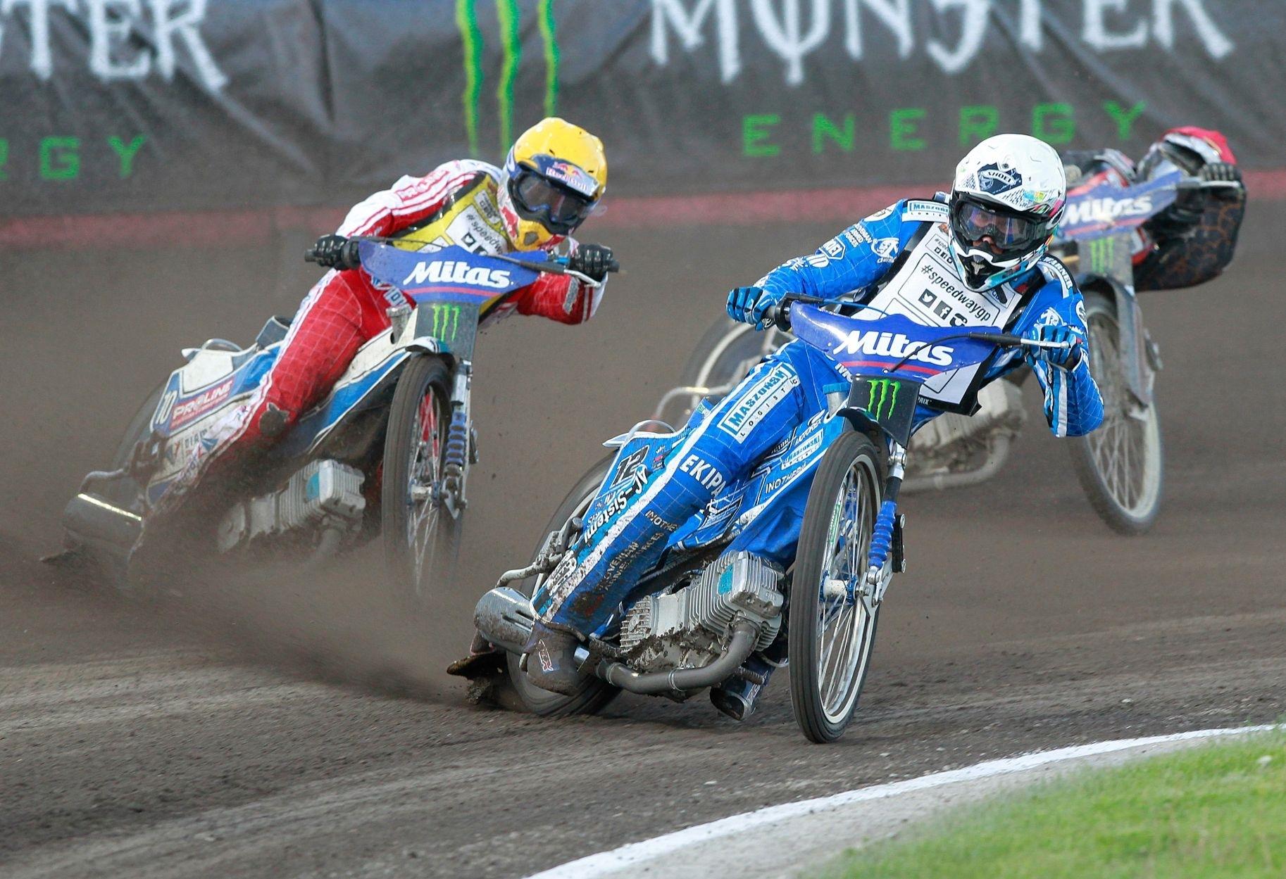 Mitas parie sur les Grands prix de Speedway
