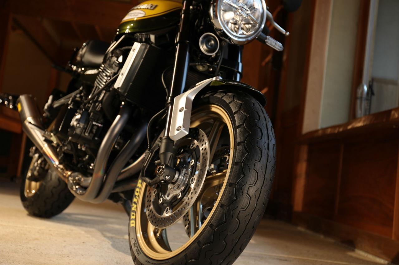 Dunlop dévoile un nouveau pneu moto rétro
